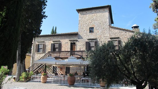 Tenuta di Ricavo: restaurant voor ontbijt en diner