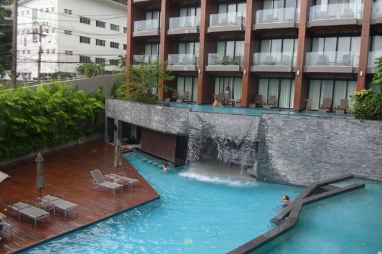 KC Grande Resort & Spa: One of a swimming pool @Hill side