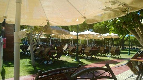 Adriana Beach Club Hotel Resort : The outdoor Grill Restaurant
