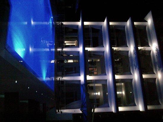 Hotel Central Park: L'hotel visto di notte - una meraviglia