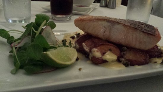 Reef House Restaurant : The salmon