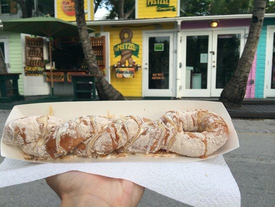 Key West Pretzel Company : Cinnamon sugar pretzel