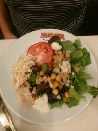 Brazaviva Churrascaria: Salad bar