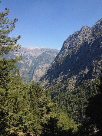Samaria Gorge National Park: Горы