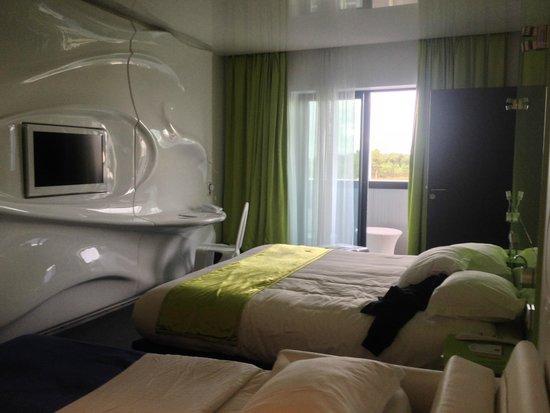 BEST WESTERN PLUS Design & Spa Bassin D'Arcachon : la chambre
