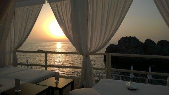 Lido del Faro al tramonto
