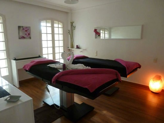 Hostellerie les Frênes : spa1