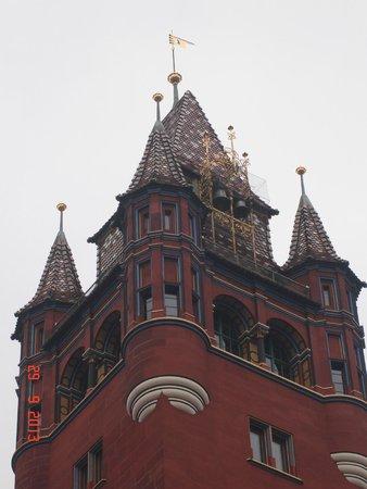 Rathaus: Фрагмент башни