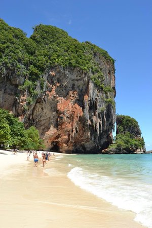 PhraNang Cave Beach: Août 2013