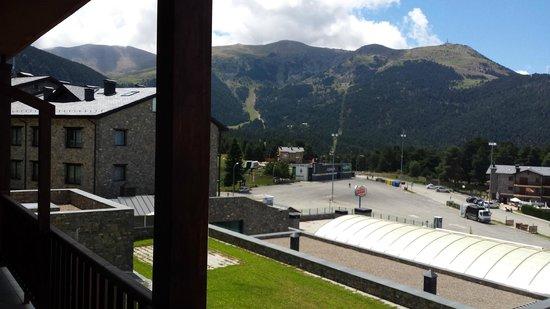 Guitart La Molina Resort & Spa : Vista desde el balcón
