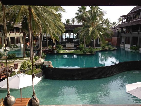 Mai Samui Resort & Spa: view from reception area