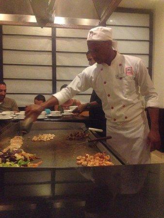 Grand Bahia Principe Turquesa: restaurant japonais