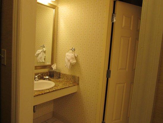 Hershey Lodge: Bath area