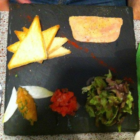 Foie gras picture of la plume blanche tours tripadvisor - Guirlande plume blanche ...
