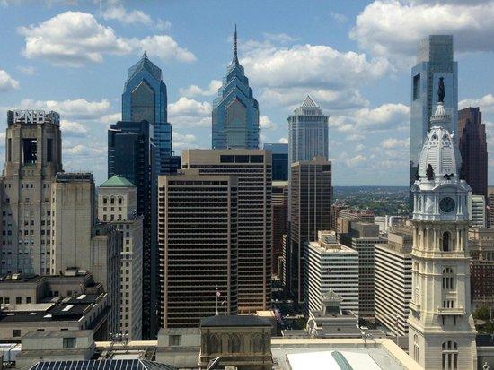 Loews Philadelphia Hotel: View looking west from Room 2921