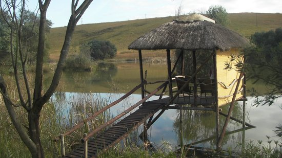 Shiriba Lodge : On the deck