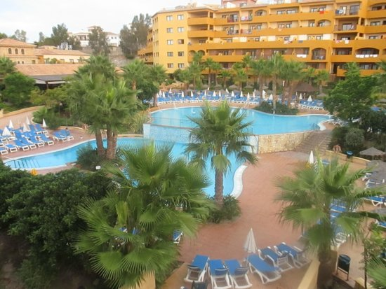 Hotel Best Alcazar: piscina desde la habitación 437