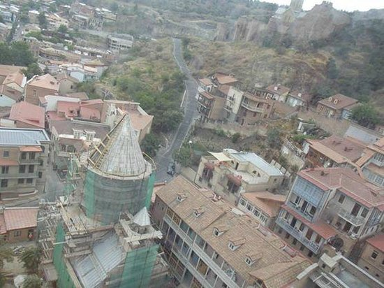 Old Town (Altstadt) Tbilisi: Old Tbilisi view from Cable Car