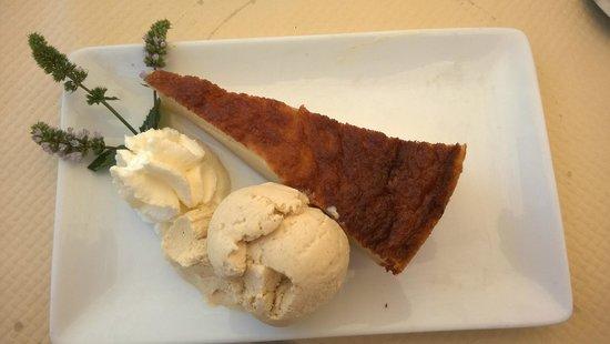 La Cabane : Dessert : flan maison