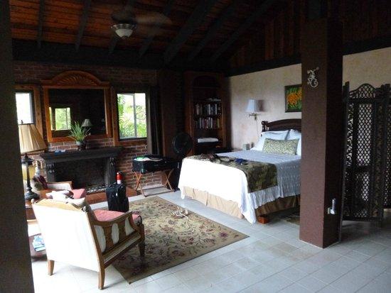 Rainforest Inn: One of the bedrooms