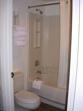Bryce View Lodge: salle de bain avec baignoire