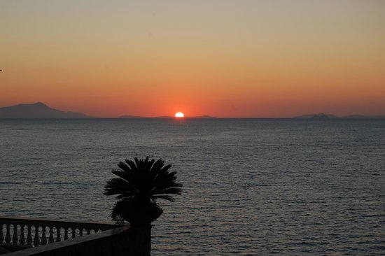 Hotel Corallo Sorrento: View from our balcony