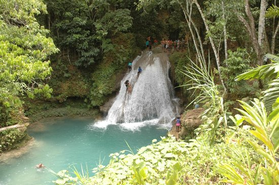 Blue Hole : We jumped from off this waterfall