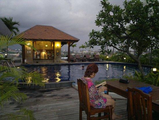 Sunshine Vista Serviced Apartment: Ночной бассейн