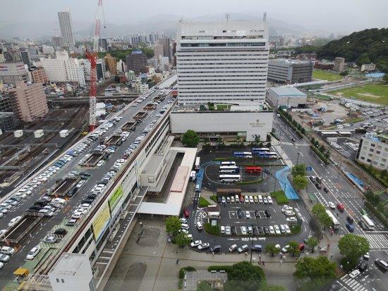 Sheraton Grand Hotel Hiroshima: 窓からの眺め