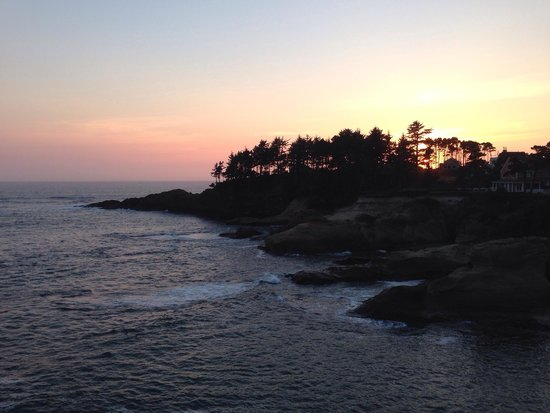 Boiler Bay State Wayside: end of a perfect day