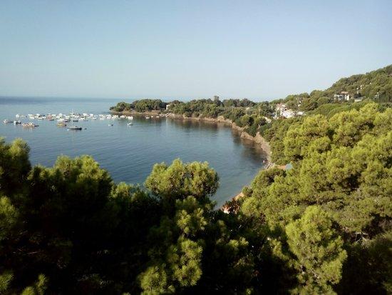 Hotel Punta Licosa: questa era la vista ogni mattina (e ogni sera)