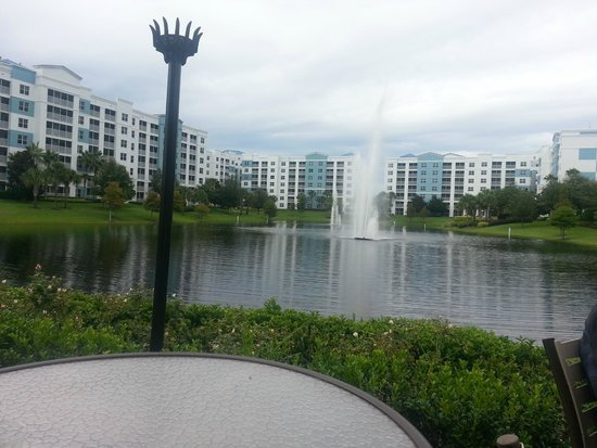 Bluegreen Fountains Resort: View from the Pool