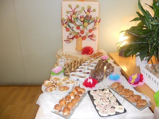Hotel Rivazzurra Rimini : buffet ferragosto 2014