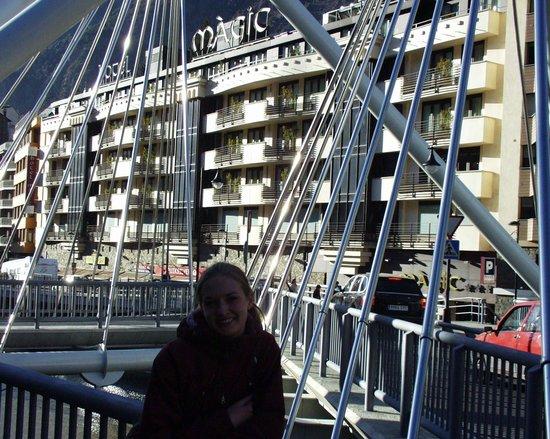 Hotel Magic Andorra : Вид на отель