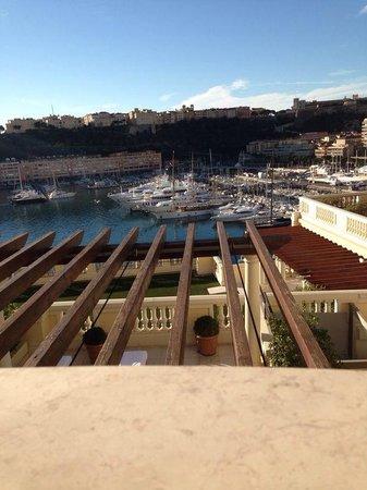 Hotel Hermitage Monte-Carlo: Affaccio sul porto