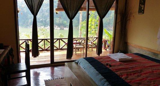 Mandala Ou Resort : Blick aus dem Zimer