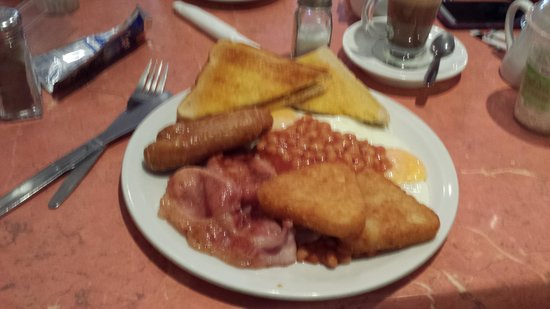 Cafe Aromas: My big breakfast!