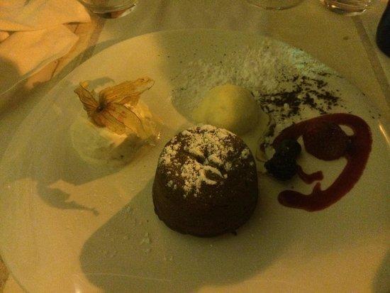 Oliva: moelleux au chocolat