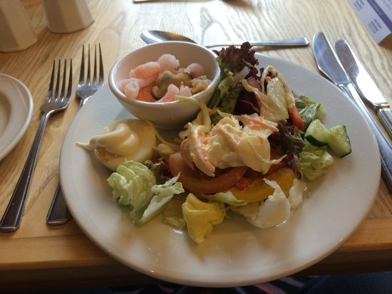 The Cliffs Hotel: Seafood starter.