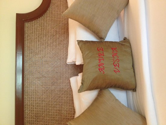 Taj Exotica Goa : a special present for us