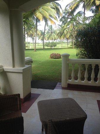 Taj Exotica Resort & Spa Goa : our balcony