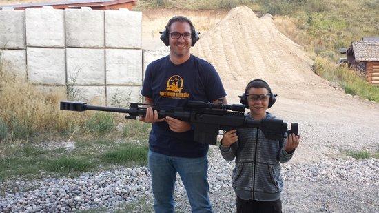 Jackson Hole Shooting Experience: .50 Cal Wow