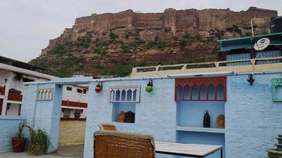 King's Retreat Jodhpur: Vue de la terrasse
