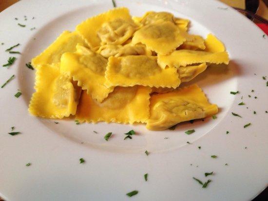 Antica Osteria Broletto: Pasta.