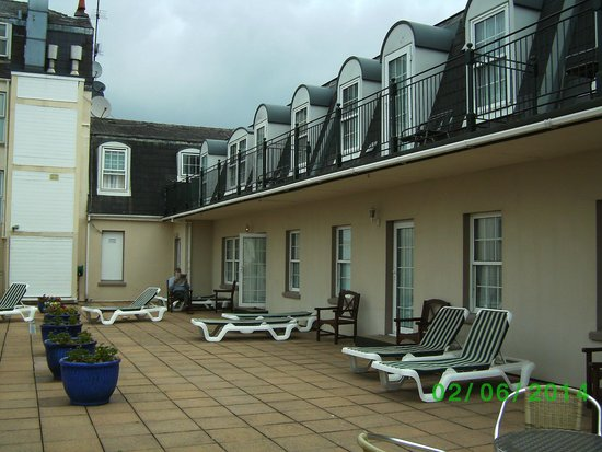 Best Western Royal Hotel : The Patio