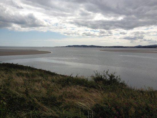 InterContinental Dublin: Baie de Dublin en bordure de l'irishtown park à marée basse