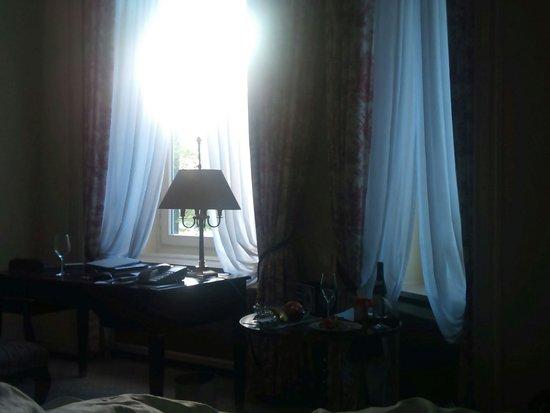 Fairmont Hotel Vier Jahreszeiten : Fra vårt rom vårt yndlings rom nr.101