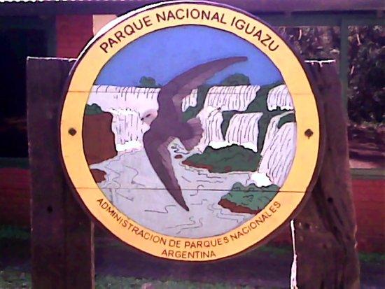 Cataratas del Iguazú: Placa do inicio do passeio
