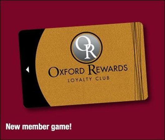 Oxford, ME: Sign up today and play our New Member Game!