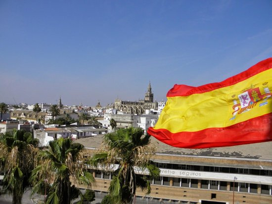 Torre del Oro : View from the top top point